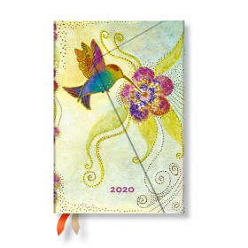 Agenda PAPERBLANKS Colibri - Mini - 100×140mm - 1 semaine sur 2 pages vertical