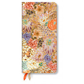 Agenda PAPERBLANKS Kikka - Slim - 95×180mm - 1 semaine sur 2 pages horizontal