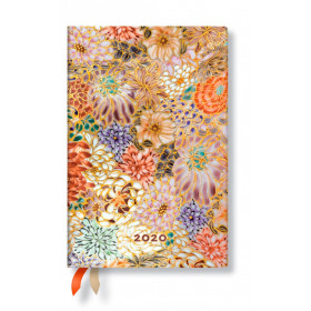 Agenda PAPERBLANKS Kikka - Mini - 95×140mm - 1 semaine sur 2 pages vertical