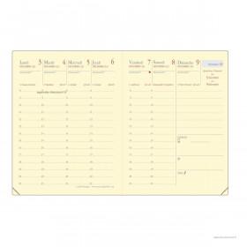 Recharge pour agenda QUOVADIS CARLA Prestige format 8x10,5cm