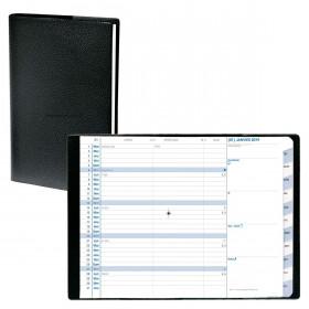 Agenda Plain QUOVADIS 10 x 15 cm. 12 mois 1 mois sur 2 pages