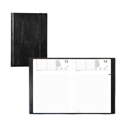 Agenda QUOVADIS MAOR ML Baladek noir  - 8,5x13cm - 1 jour par page