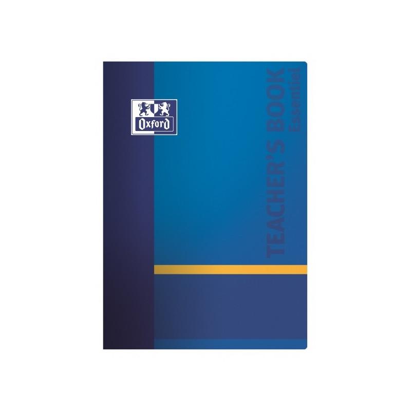 Agenda du professeur OXFORD Teacher 21x29,7cm - 8 Classes- COLORIS ALEATOIRES