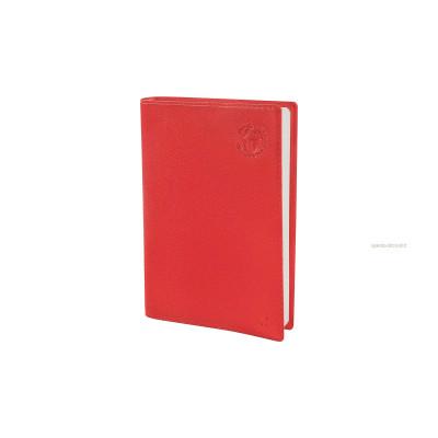 Agenda QUOVADIS RANDONNEE Recyclé rouge cerise - 9x12,5cm - 1 semaine sur 2 pages