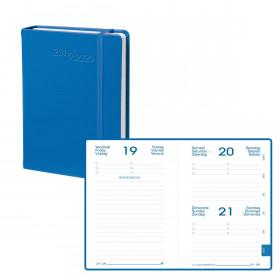 Agenda QUOVADIS EUROTEXTAGENDA Habana - Bleu - 12x17cm - 1 jour par page