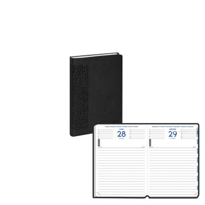 Agenda scolaire EXACOMPTA 12x17 cm - forum Winner noir - 1 jour par page idéal collège / lycée