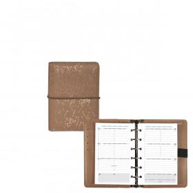Organiseur EXACOMPTA Exatime 14 SAD Méline cappucino 14x10cm