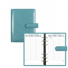 Organiseur EXACOMPTA Exatime 17 light SAD Eden turquoise 13.5x19cm