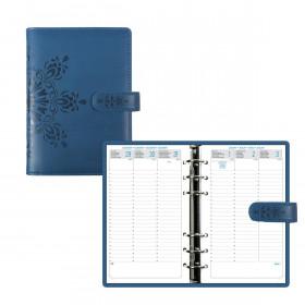 Agenda organiseurs EXACOMPTA Exatime 17 light Cordoba bleu - 190x135mm