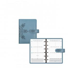Agenda organiseurs EXACOMPTA Exatime 14 light Cordoba Bleu ciel - 140x100mm