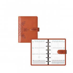 Organiseur EXACOMPTA Exatime 14 light Cordoba - 140x100mm - Orange