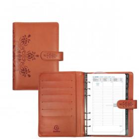 Agenda organiseurs EXACOMPTA Exatime 17 light Cordoba orange - 190x135mm