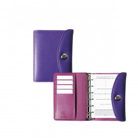 Agenda organiseurs EXACOMPTA Exatime 14 light Philae violet - 140x100mm