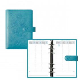 Organiseur EXACOMPTA Exatime 17 light Flora turquoise - 190x135mm