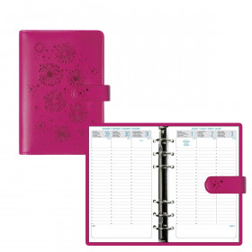 Organiseur EXACOMPTA Exatime 17 light Flora Fushia - 190x135mm