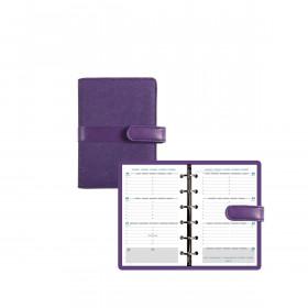 Agenda organiseur EXACOMPTA Exatime 14 Kelly violet - 140x100mm