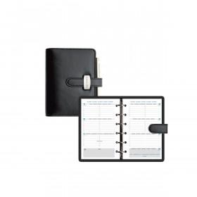 Agenda EXACOMPTA Exatime 14 Dual noir - 150x115x35 mm