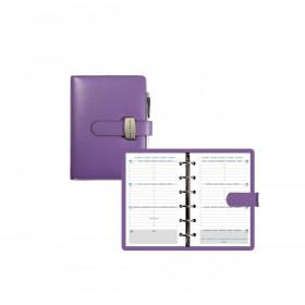 Organiseur EXACOMPTA Exatime 14 Dual violet - 140x100mm