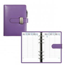 Organiseur EXACOMPTA Exatime 17 Dual violet - 190x160mm