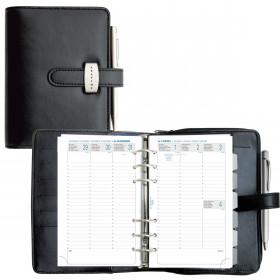 Agenda EXACOMPTA Exatime 17 Dual (16 mois) noir - 195x160x45 mm