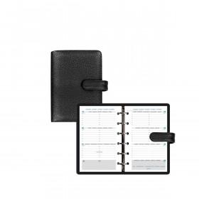 Agenda organiseur EXACOMPTA Exatime 14 Baltique noir - 140 x 100 mm