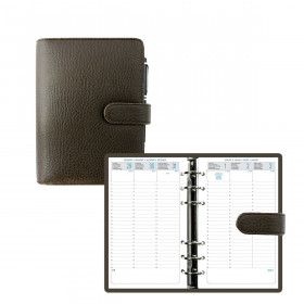 Agenda organiseur EXACOMPTA Exatime 17 Baltique marron - 190 x 150 mm