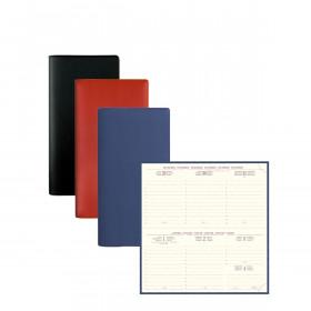 Agenda EXACOMPTA de poche Temporel 17 Barbara - 175x90mm - 1 semaine sur 2 pages (COLORIS ALEATOIRES)