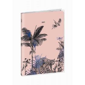 Agenda QUOVADIS Affaires 10x15cm Jungle spirit - 1 semaine sur 2 pages Vertical - Poetique
