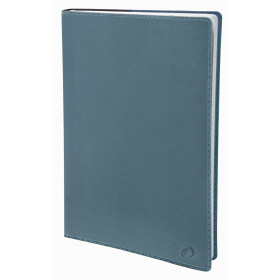 Agenda QUOVADIS Ministre 16x24cm Toscana - 1 semaine sur 2 pages Vertical - Bleu Aqua