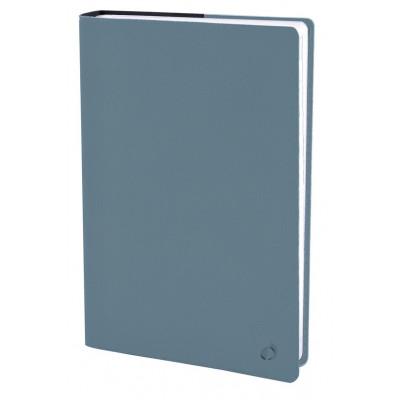 Agenda QUOVADIS Textagenda 12x17cm Toscana - 1 jour par page - Bleu Aqua