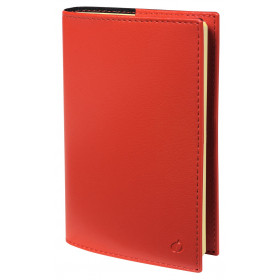 Agenda QUOVADIS Miniweek 7x10cm Soho - 1 semaine sur 2 pages Horizontal - Rouge Dali
