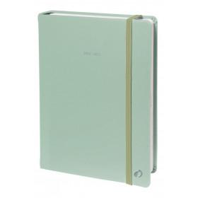 Agenda QUOVADIS Note 21 15x21cm Pastel - 1 semaine sur 1 page Horizontal+NOTE - Vert
