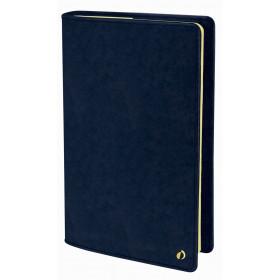 Agenda QUOVADIS Ministre Prestige 16x24cm Wild - 1 semaine sur 2 pages Vertical - Bleu Marine
