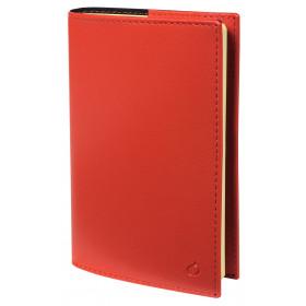 Agenda QUOVADIS Ministre Prestige 16x24cm Soho - 1 semaine sur 2 pages Vertical - Rouge Dali