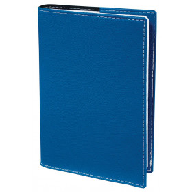 Agenda QUOVADIS Texthebdo 16x24cm Club - 1 semaine sur 2 pages Horizontal - Bleu Roi
