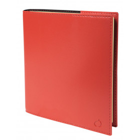 Agenda QUOVADIS Note 16S 16x16cm Soho - 1 semaine sur 1 page Horizontal+NOTE - Rouge Dali