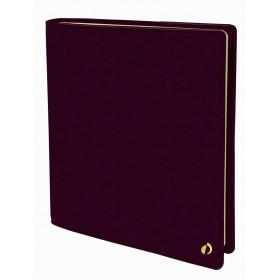 Agenda QUOVADIS Executif Prestige ML 16x16cm Wild - 1 semaine sur 2 pages Vertical - Prune