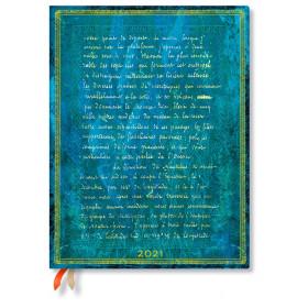 Agenda PAPERBLANKS Flexible Les Manuscrits Estampés - Ultra - 180×230mm - 1 jour par page