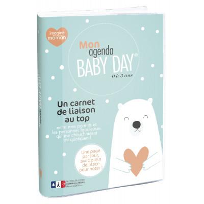 Carnet de liason EXACOMPTA Mon agenda Babyday® 0-3ans 15x21cm