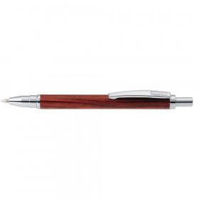 Stylo bille bois Rosewood marron - M (0,5 mm) NOIR