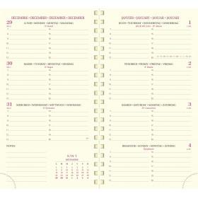 Recharge EXACOMPTA pour agenda EUROTIME 16S - 16x9cm