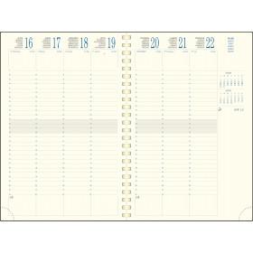 Recharge EXACOMPTA pour agenda EUROTIME 24S -24x16cm