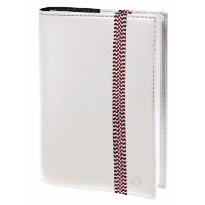 Agenda QUOVADIS TIME&LIFE Pocket 10x15cm - Time & Life Blanc - 1 semaine sur 2 pages Vertical