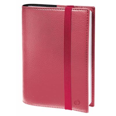 Agenda QUOVADIS TIME&LIFE Pocket 10x15cm - Time & Life Rose irisé - 1 semaine sur 2 pages Vertical