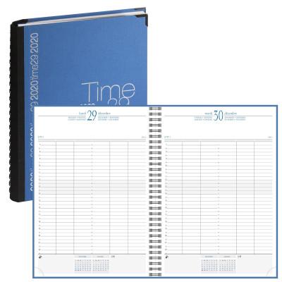 Agenda EXACOMPTA Time 29W Wire-o SPIRALE - 29,7x21cm - 1 jour par page
