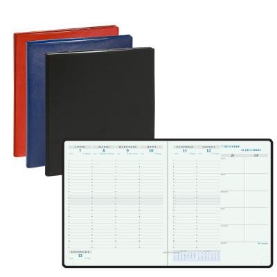 Agenda EXACOMPTA Horizon 22 Gobi - 225x185mm - 1 Semaine sur 2 pages (COLORIS ALEATOIRES)
