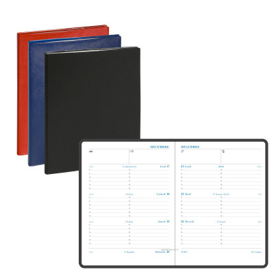 Agenda EXACOMPTA Semainier pratic Barbara - 180x140mm - 1 Semaine sur 2 pages (COLORIS ALEATOIRES)
