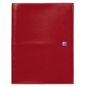 Agenda Oxford Voyage 21x27cm - 1 semaine sur 2 pages - couverture Rouge