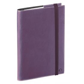 Agenda QUOVADIS TIME&LIFE LARGE violet - 16x24cm - 1 semaine sur 2 pages