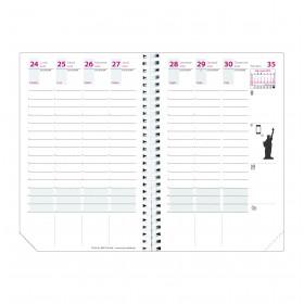 Recharge pour agenda QUOVADIS TIME&LIFE POCKET format 10x15cm